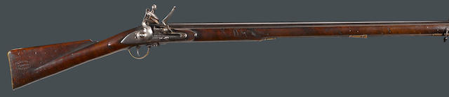 A British flintlock volunteer's or trade musket by Barnett