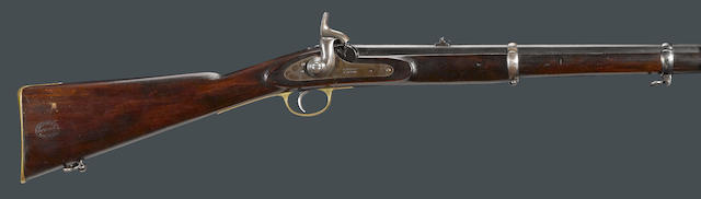 A British volunteer's percussion carbine by Barnett