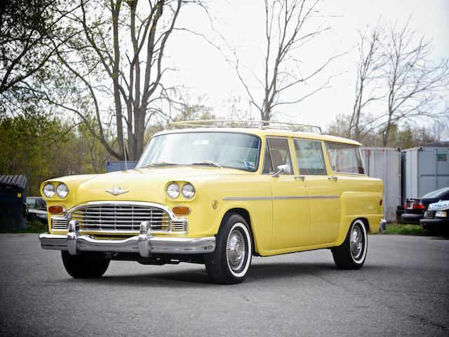 1971 Checker Marathon Station Wagon  Chassis no. A12W364631379A