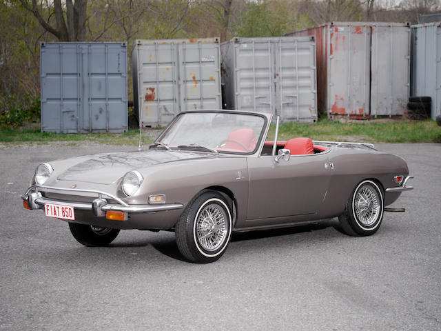 1971 Fiat 850 Spider  Chassis no. 700GBS10102507