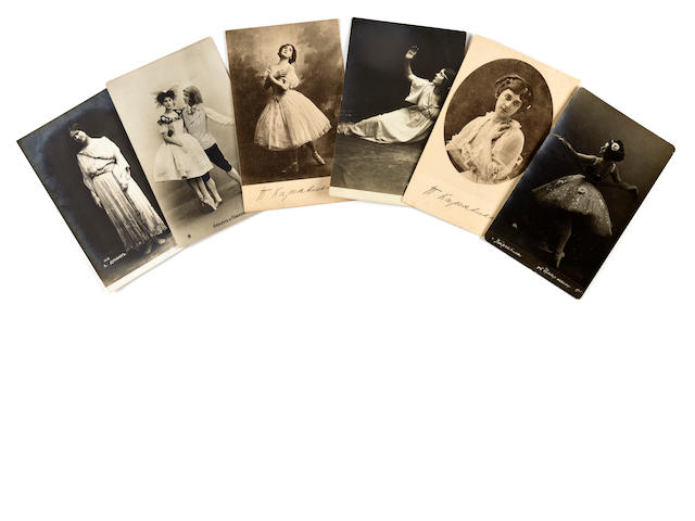 Collection of Ballet postcards