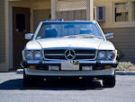 1988 Mercedes-Benz 560SL Convertible  Chassis no. WDBBA4801JA084134