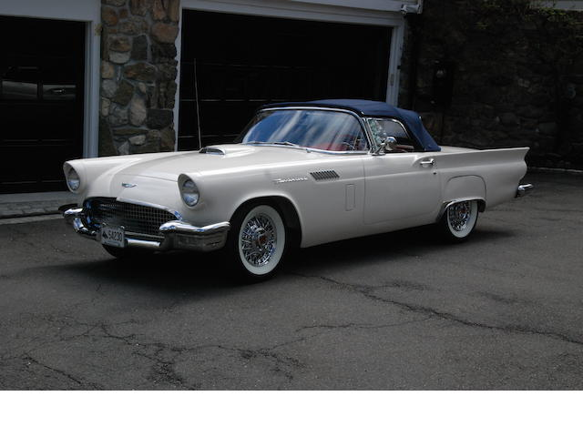 1957 Ford Thunderbird Convertible  Chassis no. D7FH154842