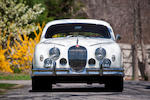 Subject of an over $100,000 restoration,1957 Jaguar MkI Saloon  Chassis no. S986121BW Engine no. KE25618