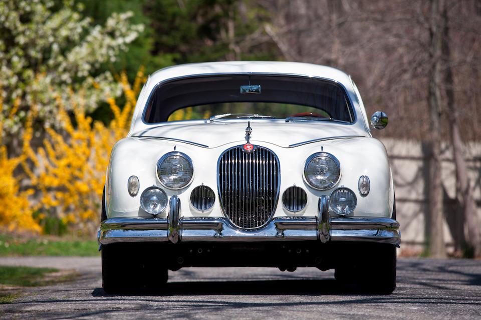 Subject of an over $100,000 restoration,1957 Jaguar MkI Saloon  Chassis no. S986121BW Engine no. KE25618