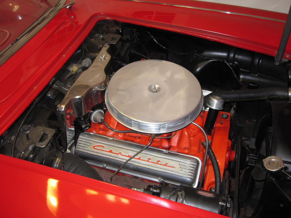 1960 Chevrolet Corvette Roadster  Chassis no. 00867S100464 Engine no. F29300