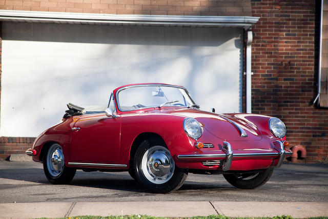 1963 Porsche 356 Super 90 Cabriolet  Chassis no. 157022 Engine no. 805679
