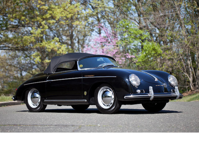 1955 Porsche 356 Speedster  Chassis no. 80745 Engine no. 35201