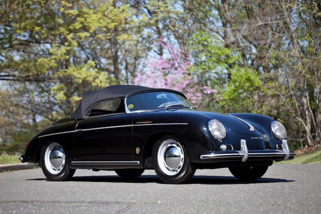 1955 Porsche 356 Speedster  Chassis no. 80745 Engine no. 35201