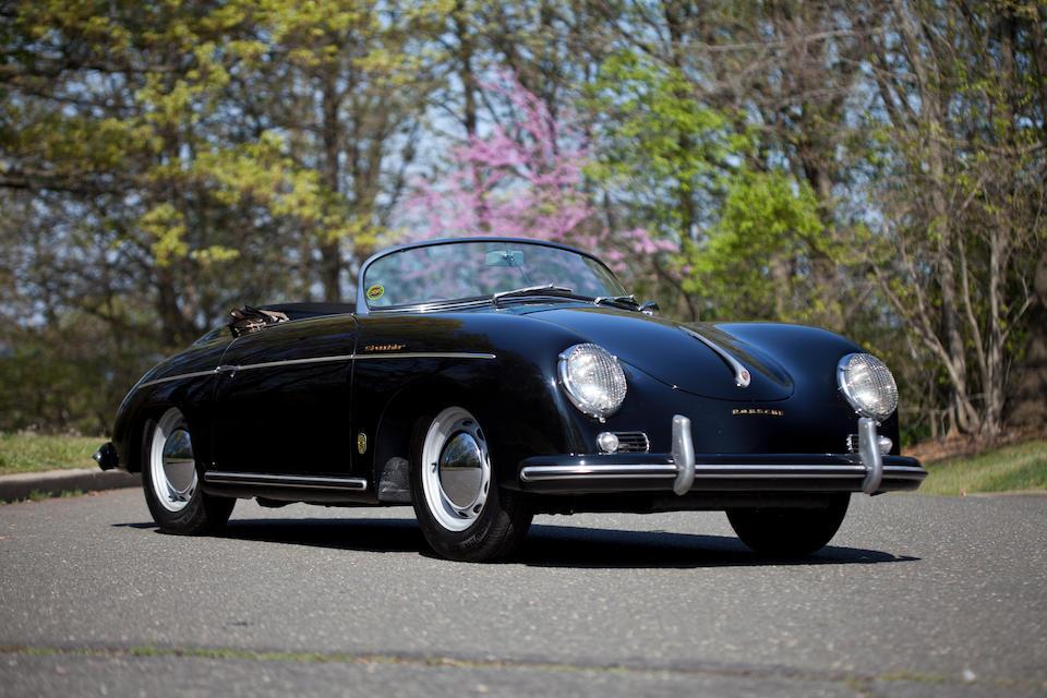 Bonhams : 1955 Porsche 356 Pre-A Speedster Chassis no  80745 Engine
