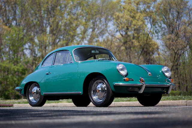 1963 Porsche 356 Super 90 Coupe  Chassis no. 211317 Engine no. 805726