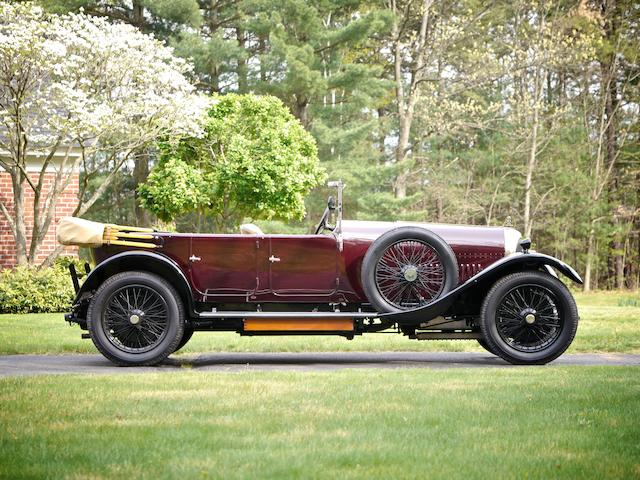 1924 Bentley 3 Liter Tourer  Chassis no. 792 Engine no. 801
