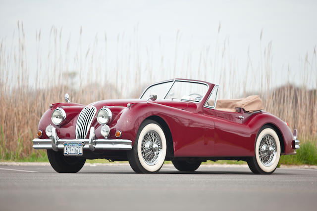 Four owners from new,1955 Jaguar XK140 SE Drophead Coupe  Chassis no. S817336 DN Engine no. G2998-8S