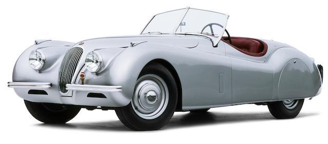 1952 Jaguar  XK120 OTS  Chassis no. 671555 Engine no. W3656-8