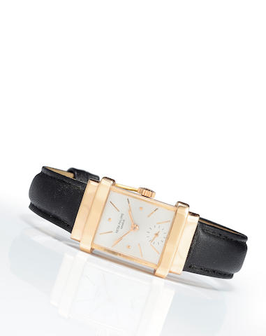 "Patek Philippe. A fine 18K rose gold wristwatch""Top Hat"", Ref:1450, Case No.645444, Movement No.838947, circa 1947"