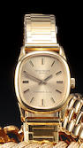 Patek Philippe. A fine 18K gold lady's wristwatch and braceletRetailed by Tiffany & Co, Ref. 4201,