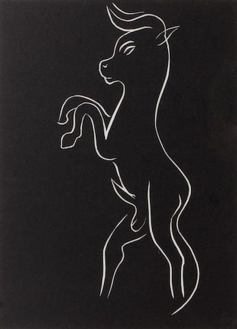 Henri Matisse (French, 1869-1954); One Plate, from Pasiphaé;