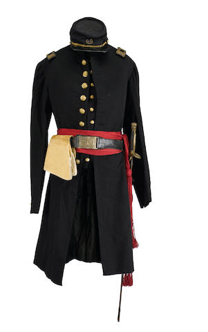 An historic Civil War officer's uniform grouping of Captain Robert Hale Ives Goddard