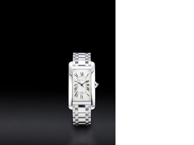 Cartier white gold tank
