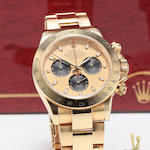 Rolex Daytona yellow gold complete