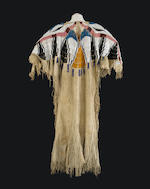 A Nez Perce beaded dress