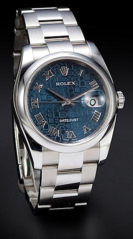 Rolex S DATEJUST Jubilee dial