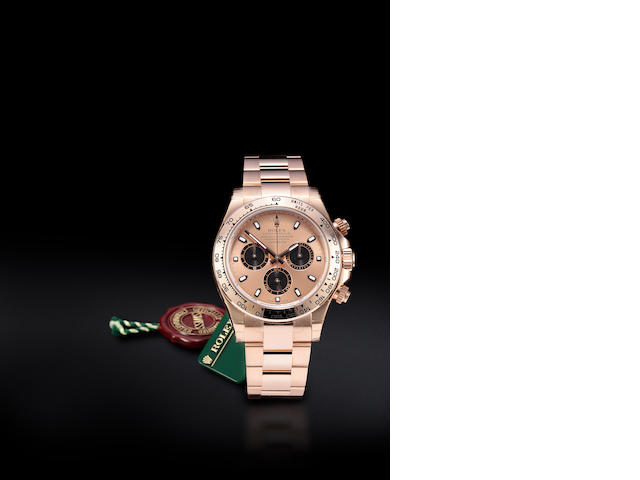 Rolex Everose gold DAYTONA