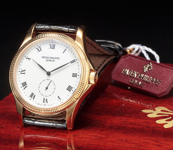Patek Philippe. A fine 18K gold wristwatchRef:5115J-001, Case no. 4112735, Movement no. 1907261, sold 2001