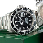Rolex SS submariner in box