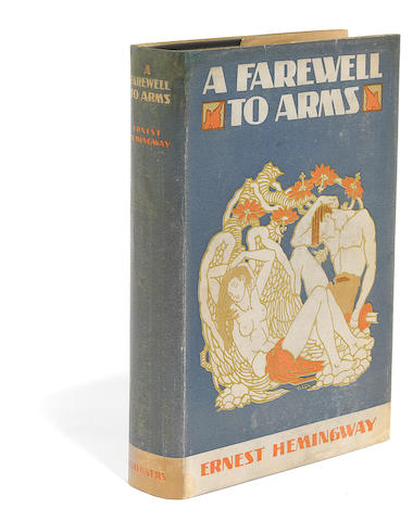 HEMINGWAY, ERNEST. 1899-1961. A Farewell to Arms. New York: Charles Scribner's Sons, 1929.