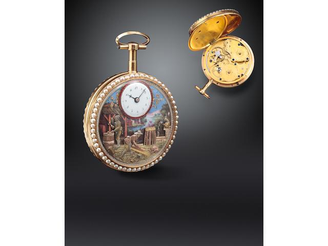 Automaton watch of cooper's yard