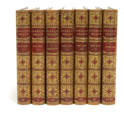 READE, CHARLES. The Works. L: Grolier Soceity, n.d. 25 vols. 1 of 26 lettered sets.