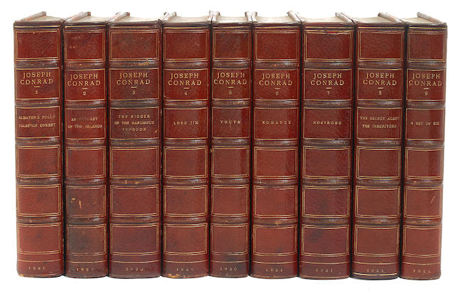 CONRAD, JOSEPH. 1857-1924. The Works of Joseph Conrad. Garden City, NY: Doubleday, Page & Co., 1920.