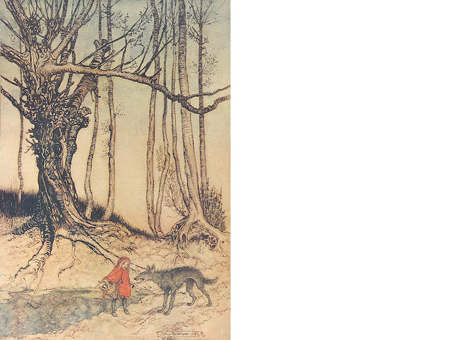 RACKHAM, ARTHUR, illustrator. 1867-1939. The Fairy Tales of the Brothers Grimm. London: Constable & Company, 1909.
