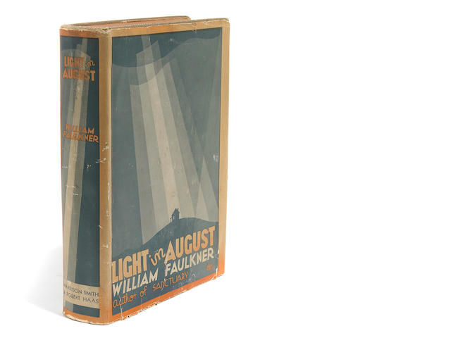 FAULKNER, WILLIAM. 1897-1962. A Light in August. [New York]: Harrison Smith & Robert Haas, [1932].