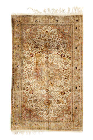 A Turkish rug size approximately 6ft. 5in. x 9ft. 8in.