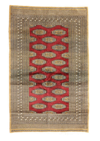 A Pakistani rug size approximately 4ft. 3in. x 6ft. 4in.