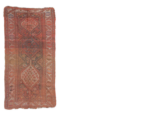 A South West Persian rug size approximately 5ft. x 9ft. 3in.