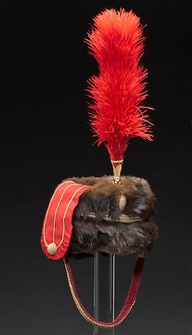 A British hussar officer's busby by Hawkes & Company