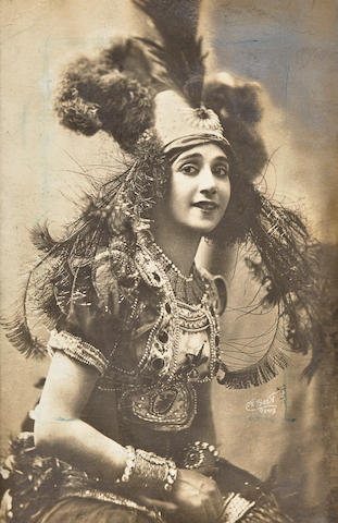 KARSAVINA, inscribed photograph