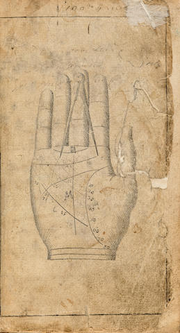 Popular fortune telling guide (Fiziognomia) 1780's.