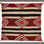 A late classic/early transitional Navajo child-sized chief's blanket