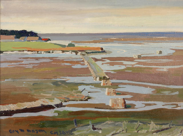 Roy Martell Mason (American, 1886-1972) Capucins Bridge 12 x 16in