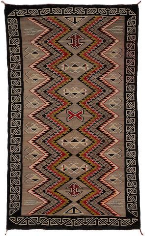 A Navajo Red Mesa rug