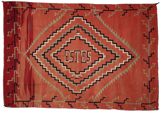 A Navajo late classic blanket