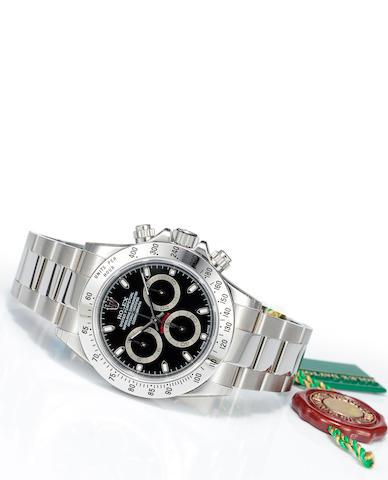 Rolex S DAYTONA black dial (116520)