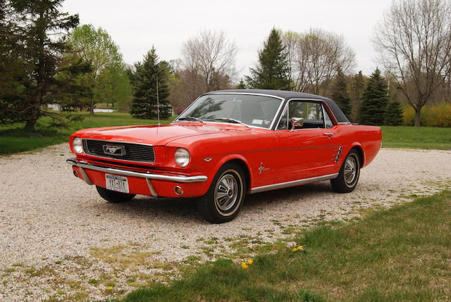 One owner from new,1966 Ford Mustang Hardtop Coupe  Chassis no. 6T07C165561