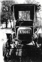 In the present family ownership since 1924,1907 Stanley Model EX  Chassis no. 3595