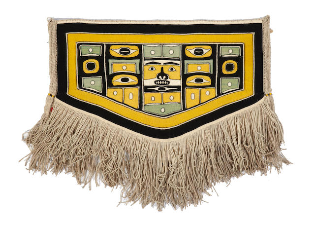 A Northwest Coast child's Chilkat blanket