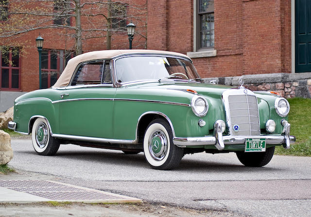 Two owners and documented from new,1958 Mercedes-Benz 220S Cabriolet  Chassis no. 220S/180030N8509371